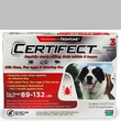 3 Month CERTIFECT RED for Dogs 89-132 lbs