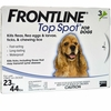 3 MONTH Frontline Top Spot Blue: For dogs 23-44 lbs