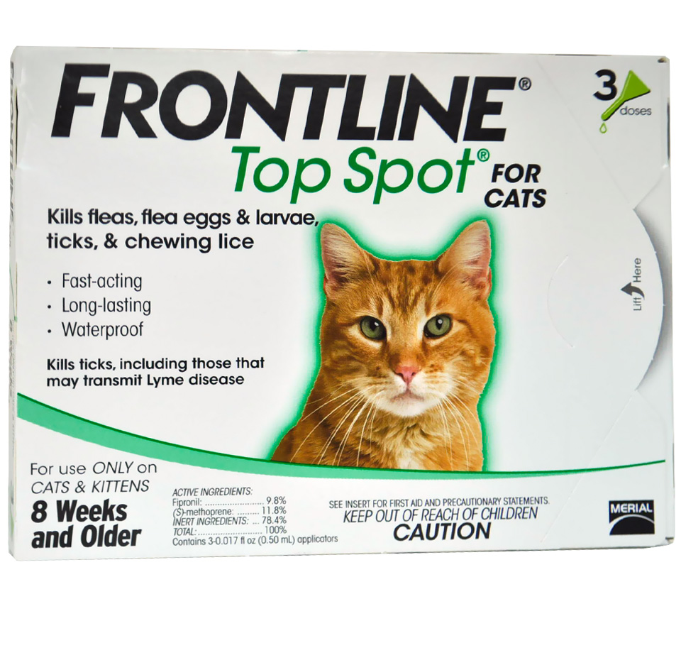 3 MONTH Frontline Top Spot for Cats and Kittens