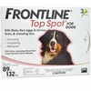 3 MONTH Frontline Top Spot Red: For Dogs 89-132 lbs.