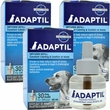 3 PACK ADAPTIL (DAP) Dog Appeasing Pheromone REFILL (144mL)