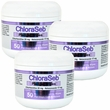 3 PACK ChloraSeb Pledget Wipes (150 ct)