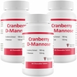 3-PACK Cranberry D-Mannose Urinary Tract Support (180 Tablets)