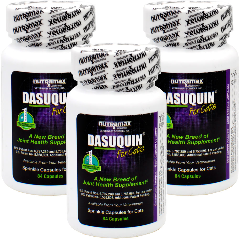 3-PACK Dasuquin for Cats (252 Caps)