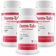 3-PACK Derm-Tabs Extra Strength for Dogs (180 Chewable Tablets)