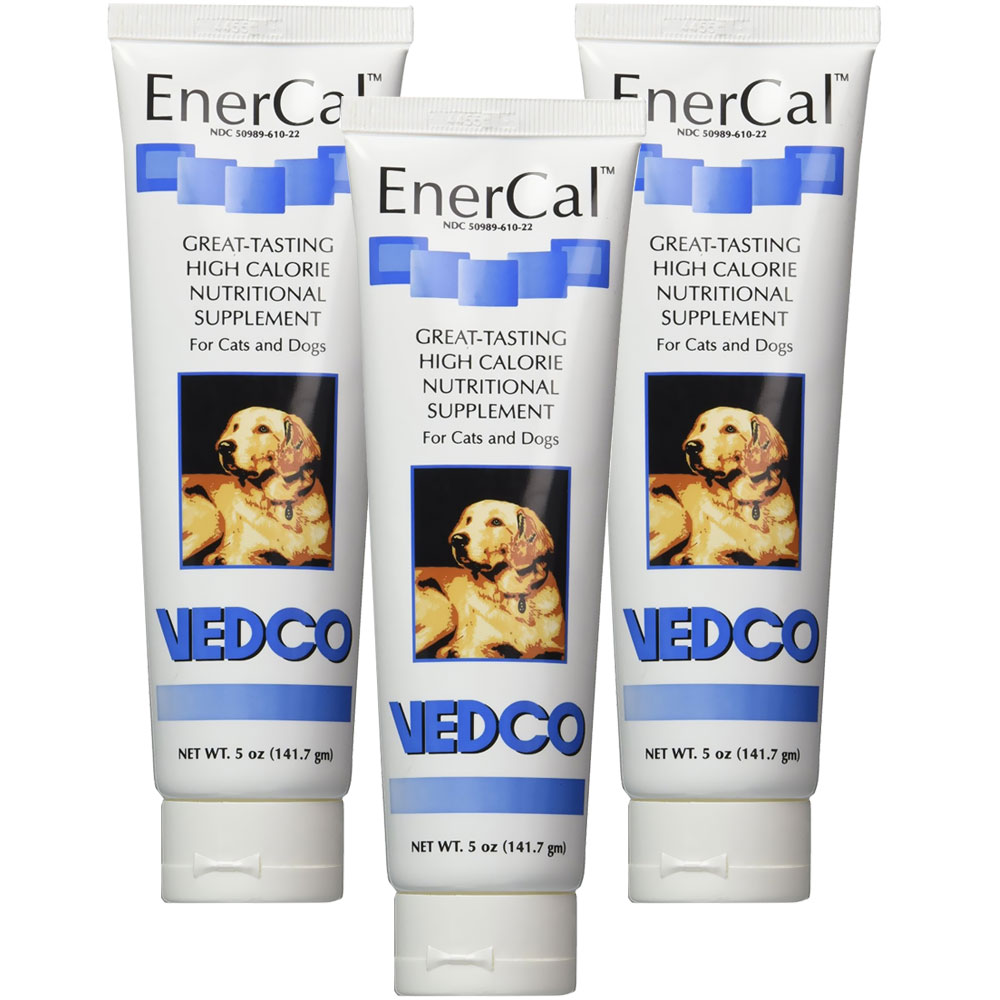 3-PACK Enercal High Calorie Nutritional Supplement Gel (15 oz)