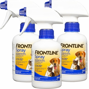 3 Pack Frontline Spray - 750 mL