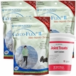 3 PACK Glyco Flex II (360 SOFT CHEWS) FREE Joint Treats