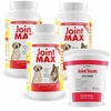 3-PACK Joint MAX® Double Strength (750 Chewable Tablets) + FREE Joint Treats® Minis