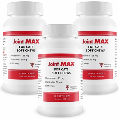 3-PACK Joint MAX Soft Chews for Cats (180 Chews)