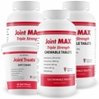 3-PACK Joint MAX TRIPLE Strength (360 Chewable Tablets) + FREE JOINT TREATS!