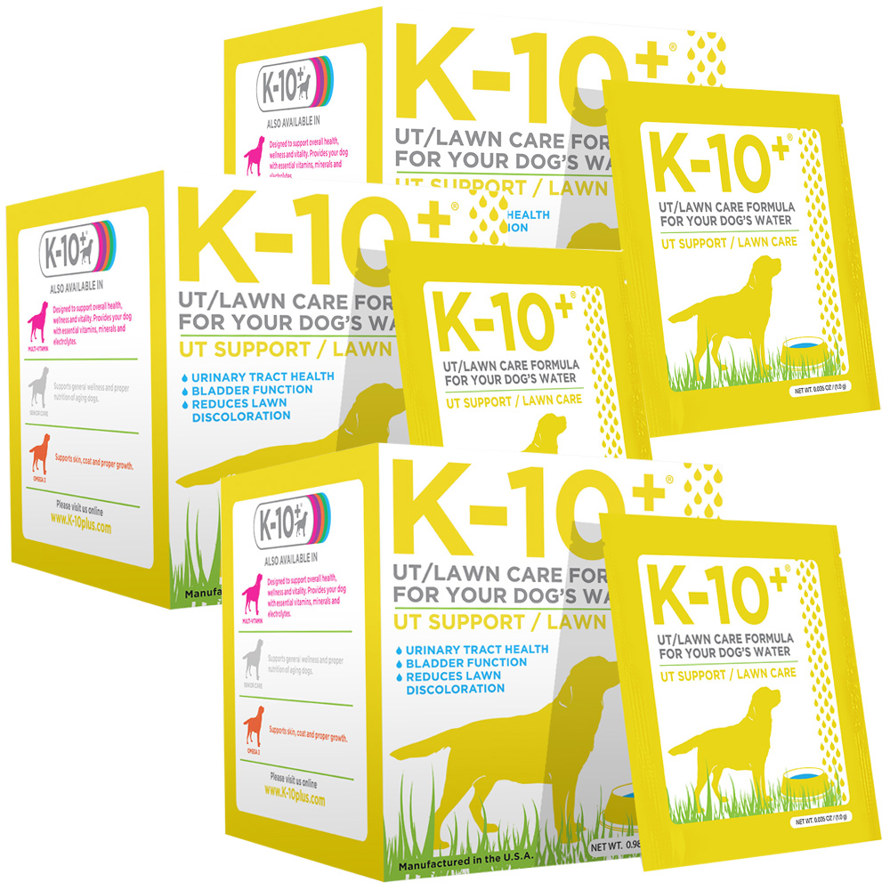 3-Pack K-10+ UT Support/Lawn Care