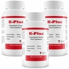 3 PACK K-Plus Potassium Citrate Plus Cranberry (300 Tabs)