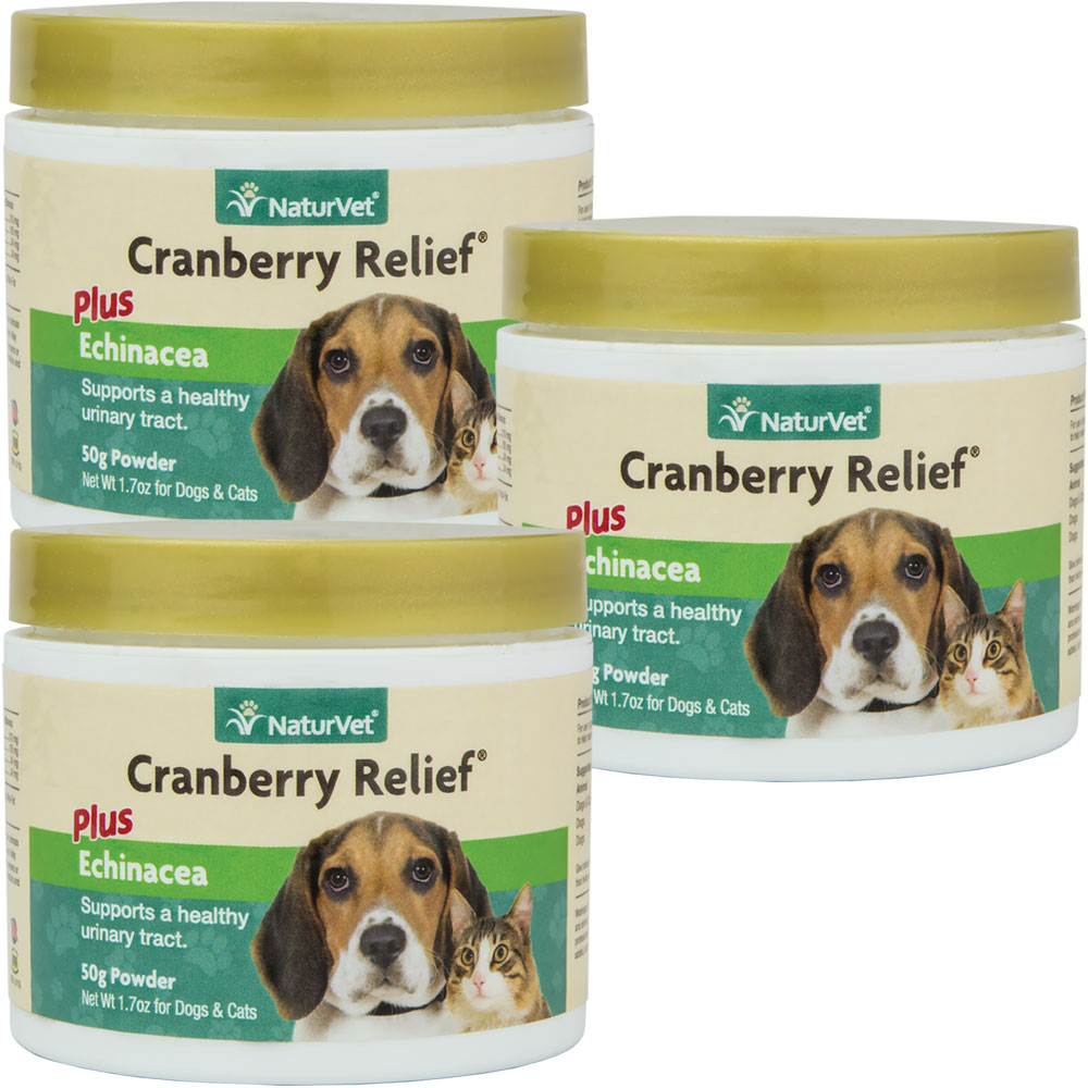 3- PACK  NaturVet Cranberry Relief  (150 gm)
