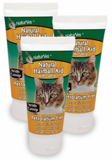 3-PACK NaturVet Natural Hairball Aid with Catnip (9 oz)