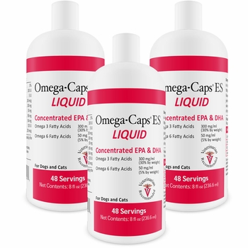 3-PACK Omega-Caps ES Liquid (24 fl oz)