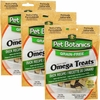 3 PACK Pet Botanics Healthy Omega Treats - Duck (15 oz)