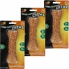 "3 PACK Pet 'N Shape Long Lasting Chewz 6"" Bone"