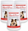 3-PACK Shed Pro Granules for DOGS (1362 gm)