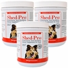 3-PACK Shed-Pro® Granules for Dogs (120 Servings)