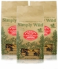 3-PACK Simply Wild Maple Glazed Bacon Dog Treats (3.3 lbs)