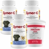 3-PACK Syner-G® Digestive Enzymes (600 Tablets) + FREE Joint Treats
