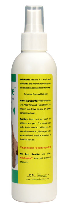 3-PACK Vitasone® Spray with Hydrocortisone .5% (12 fl oz)