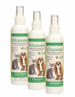 3-PACK Vitasone Spray with Hydrocortisone .5% (12 fl oz)