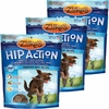 3 Packs Zuke's Hip Action with added Glucosamine and Chondroitin - BEEF (18 oz)