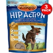 3 Packs Zuke's Hip Action with Glucosamine and Chondroitin - PEANUT BUTTER (3 lb)