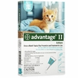 4 MONTH Advantage II Flea Control Kitten (for Cats under 5 lbs.)