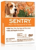 4 Month SentryPro Squeeze-On Flea & Tick ORANGE for Dogs 15-33 lbs