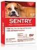 4 Month SentryPro Squeeze-On Flea & Tick RED for Dogs 33-66 lbs