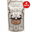 4-PACK Kitty Kuisine Natural Fish Flakes (16 oz)