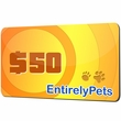 $50 EntirelyPets.com Gift Certificate