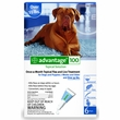 6 MONTH Advantage Flea Control Blue: For Dogs Over 55 lbs.