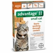 6 MONTH Advantage II Flea Control Small Cat (for Cats 5-9 lbs.)
