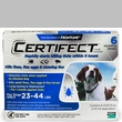 6 Month CERTIFECT BLUE for Dogs 23-44 lbs