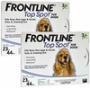 6 MONTH Frontline Top Spot Blue: For dogs 23-44 lbs