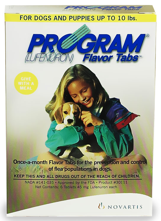 6 MONTH PROGRAM Brown: For Dogs up to 10 lbs.