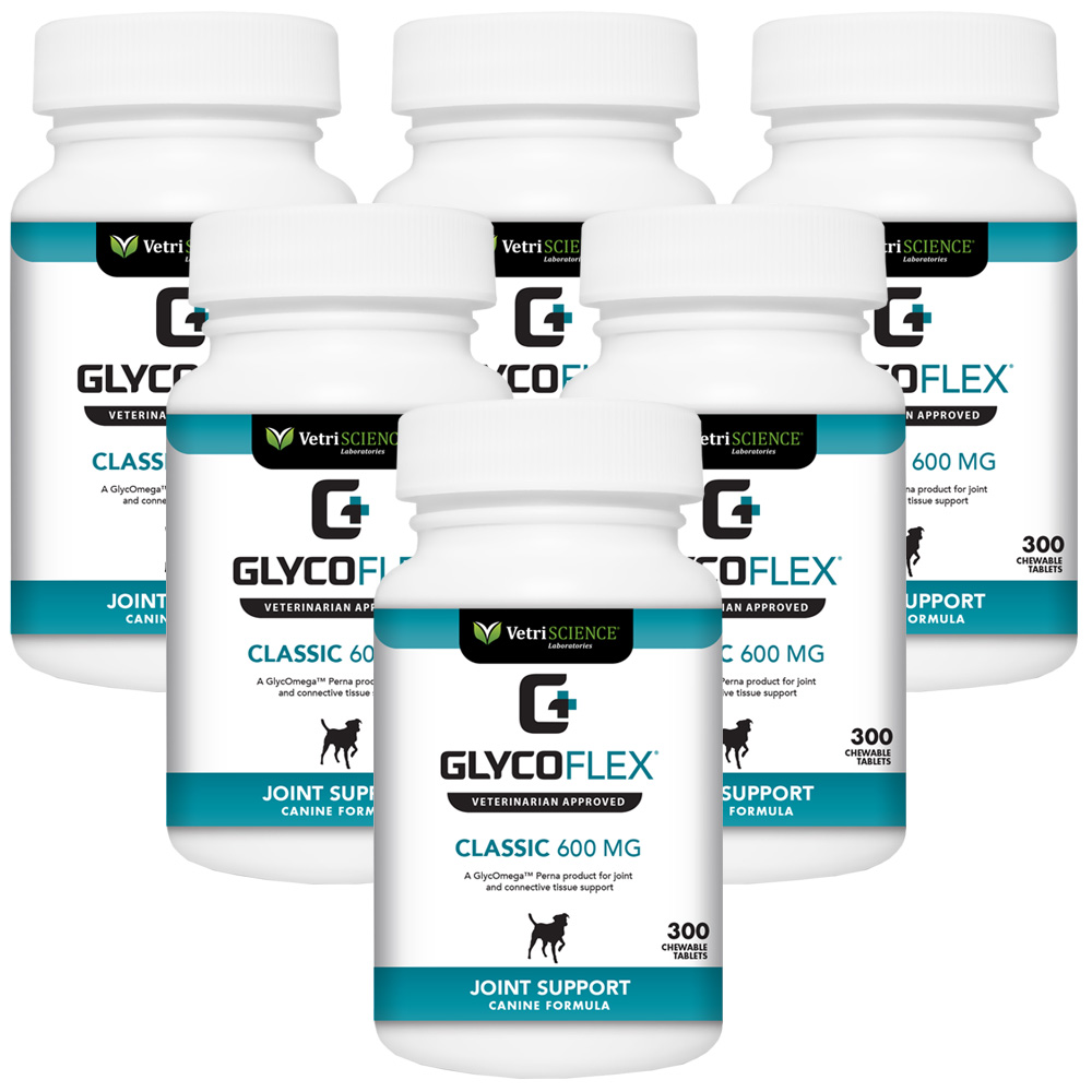 6 PACK GLYCO-FLEX CLASSIC - 600mg (1800 tablets)
