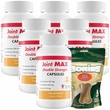 6-PACK Joint MAX® Double Strength Capsules (720 Count) + FREE BONIES® (5 Count)