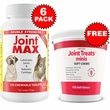 6-PACK Joint MAX Double Strength (720 Chewable Tablets) + FREE Joint Treats Minis
