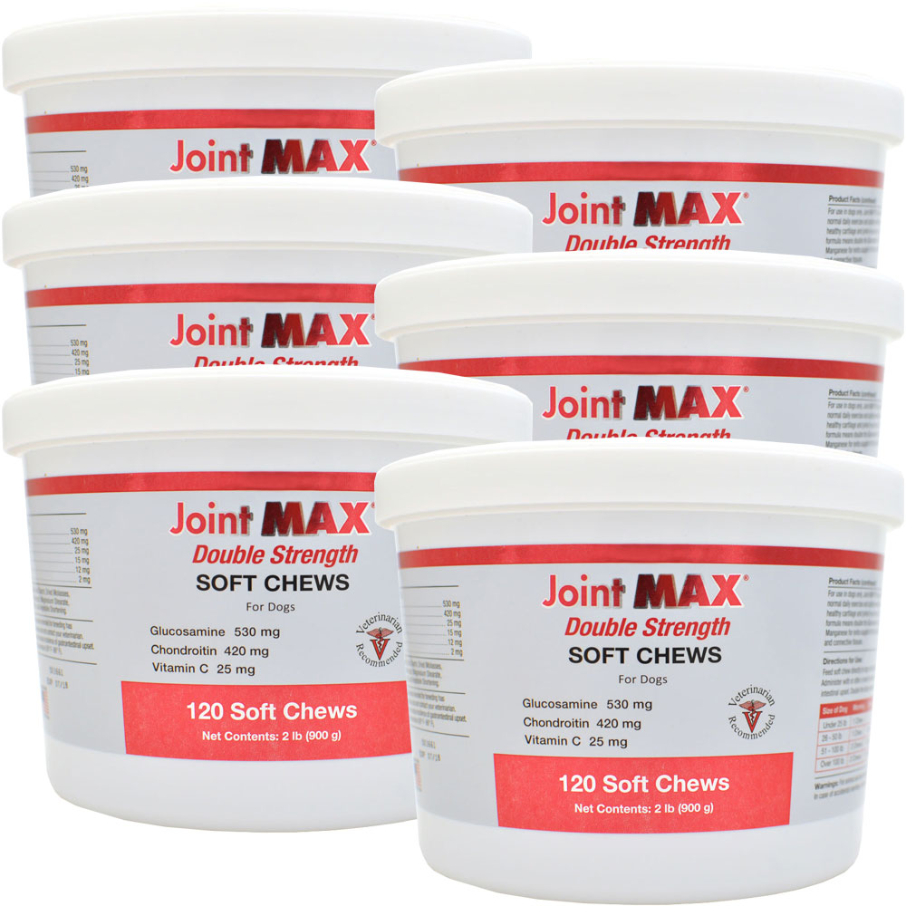 6-PACK Joint MAX® Double Strength Soft Chews (720 Chews)