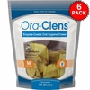 6-PACK Ora-Clens® Oral Hygiene Chews Medium (180 Chews)