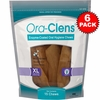 6-PACK Ora-Clens Oral Hygiene Chews X-Large (90 Chews)