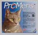 6 Pack ProMeris for  Cats under 9 lbs