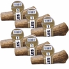 6-PACK Spizzles Elk Antler Dog Chew - Center Cut (Large)