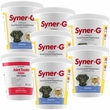 6-PACK Syner-G Digestive Enzymes GRANULES (2724 gm) + FREE Joint Treats