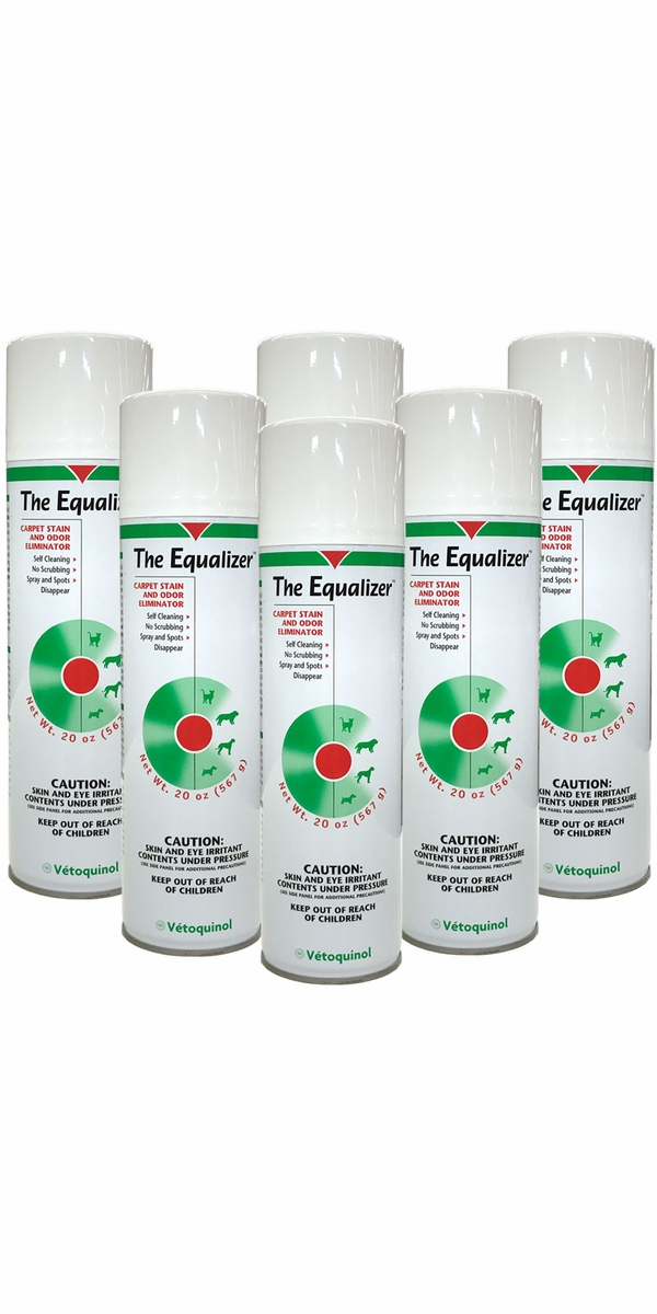 6 Pack The Equalizer Carpet Stain And Odor Eliminator 120